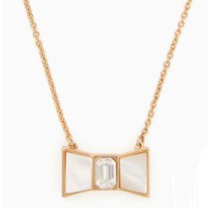 Kate Spade bow mini pendant